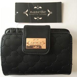 Nanette Lepore Wallet Black NEW